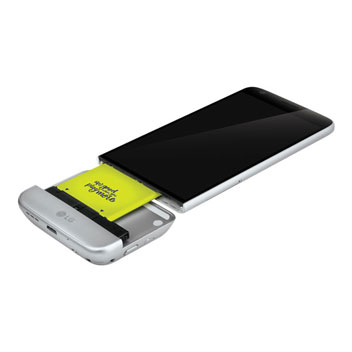Official LG G5 Cam Plus Camera Expansion Module - Silver