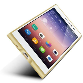 Love Mei Ultra Aluminium Huawei P7 Bumper - Gold