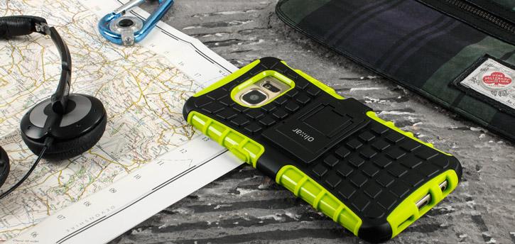 ArmourDillo Samsung Galaxy S7 Protective Case - Green