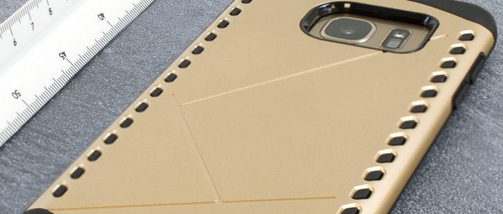 Olixar Shield Samsung Galaxy S7 Edge Case – Gold