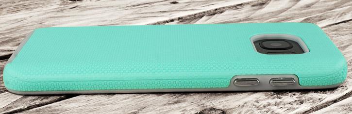Olixar Rugged Samsung Galaxy S7 Edge Case - Mint / Grey