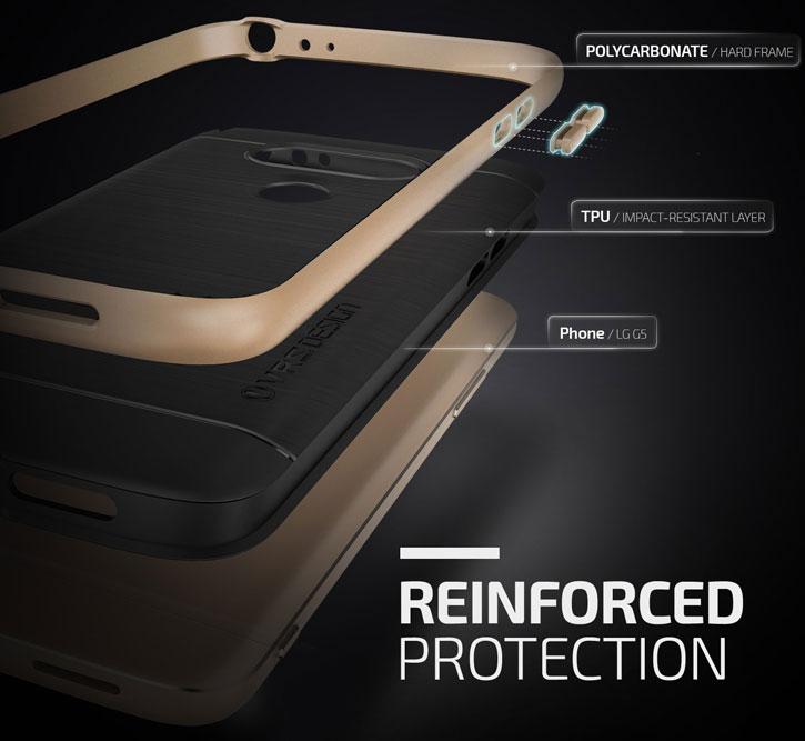 VRS Design High Pro Shield Series LG G5 Case - Shine Gold