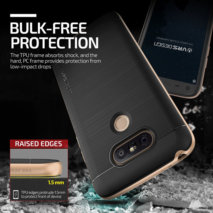 VRS Design High Pro Shield Series LG G5 Case - Shine Gold