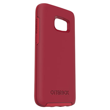 OtterBox Symmetry Samsung Galaxy S7 Case - Red
