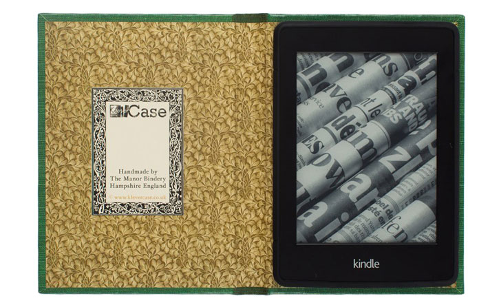Kindle Paperwhite Old Book Cover ~ Klevercase kindle paperwhite inch book case alice in