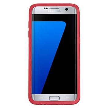 OtterBox Symmetry Samsung Galaxy S7 Edge Case - Red