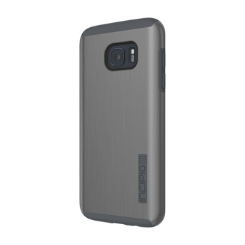 Incipio DualPro Shine Samsung Galaxy S7 Edge Case - Gunmetal / Grey