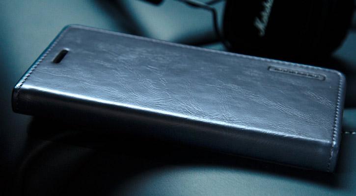 Mercury Blue Moon Samsung Galaxy S7 Wallet Case - Navy