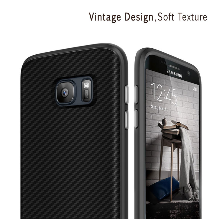 Obliq Flex Pro Samsung Galaxy S7 Case - Black