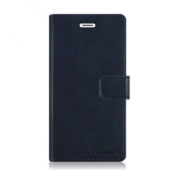 Mercury Blue Moon iPhone 6S / 6 Plus Wallet Case - Navy