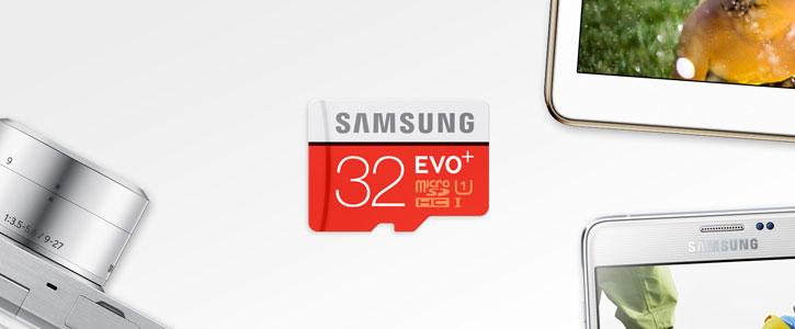 Carte mémoire MicroSDHC Samsung EVO+ Classe 10 – 128Go avec Adaptateur