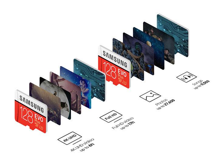 Samsung EVO Plus 128GB MicroSDXC Card - Class 10