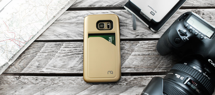 Matchnine Match4 Pocketcard Samsung Galaxy S7 Case - Champagne Gold