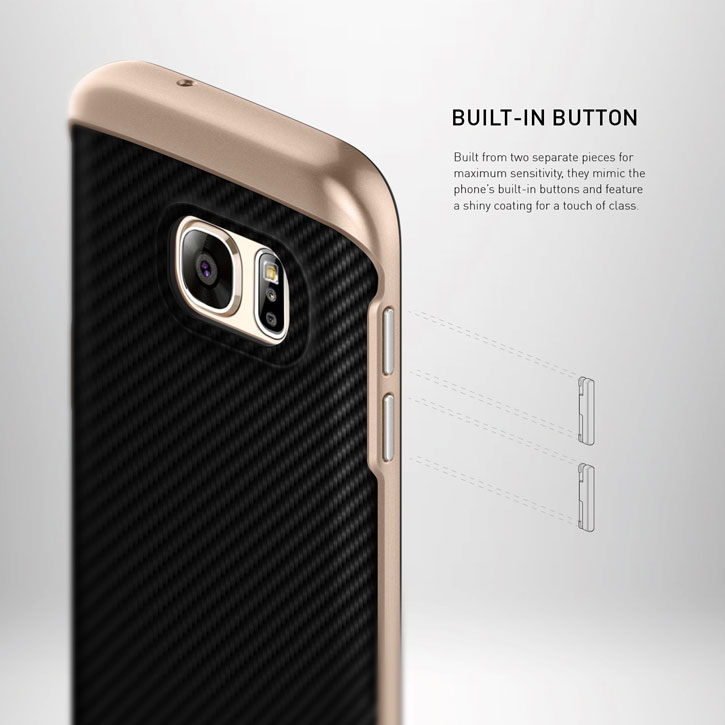 Caseology Galaxy S7 Envoy Series - Carbon Fiber Black