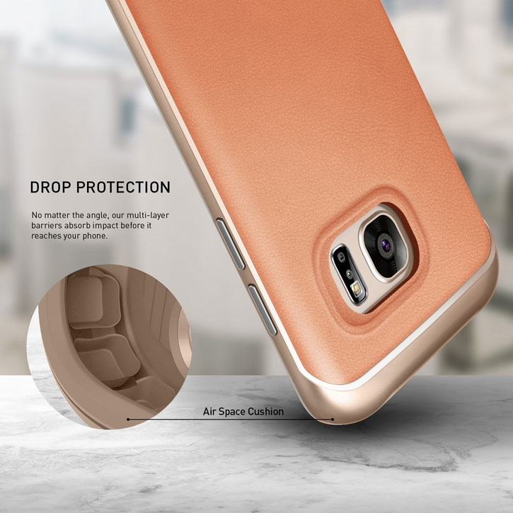 Caseology Galaxy S7 Envoy Series - Leather Pink