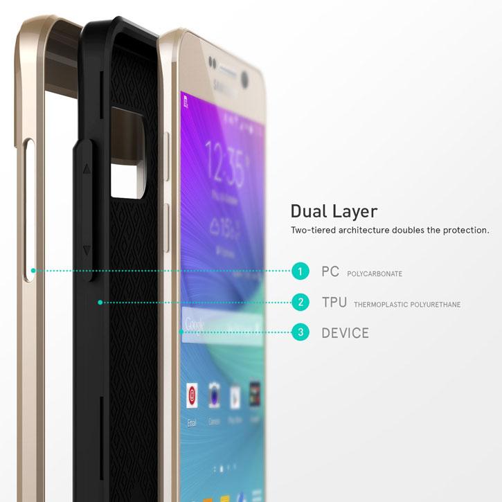 Caseology Galaxy Note 5 Envoy Series - Carbon Fiber Black
