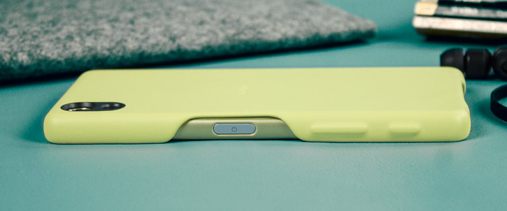 Official Sony Xperia X Protective Style Cover Case - Lime Gold