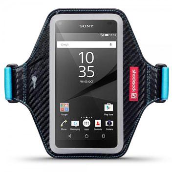 Shocksock Premium Sony Xpreria Z5 Armband - Black / Blue