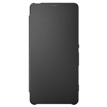 Official Sony Xperia XA Style Cover Flip Case - Graphite Black