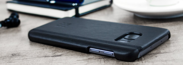 Moleskine Classic Samsung Galaxy S7 Leather-Style Case - Black