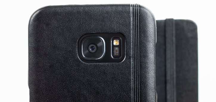 Moleskine Classic Samsung Galaxy S7 Edge Leather-Style Case - Black