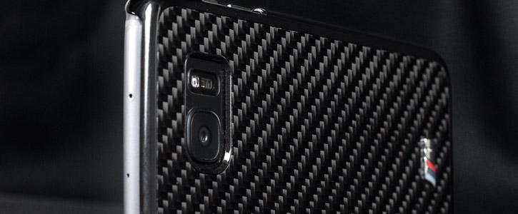 official photos ef98b 23f3f BMW M Sport Real Carbon Fibre Samsung Galaxy S7 Edge Case