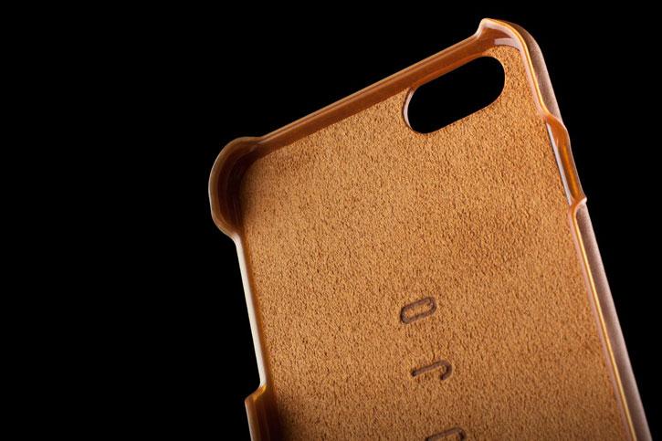 Mujjo iPhone 6S / 6 Genuine Leather Case - Tan