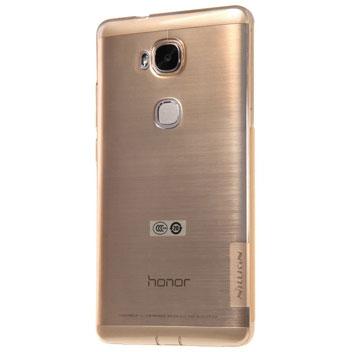 Nillkin Natural Huawei Honor 5X Gel Case - Clear Gold