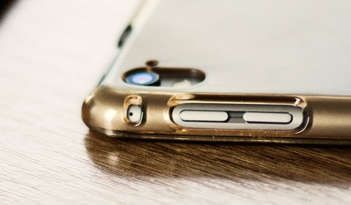 Olixar iPad Pro Folding Stand Smart Case - Clear / Gold