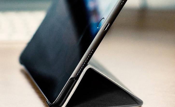 Olixar iPad 2017 Folding Stand Smart Case - Black / Clear