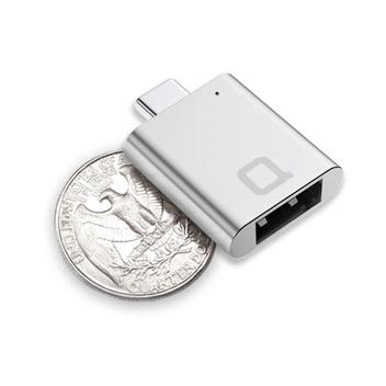 Nonda USB-C to USB 3.0 Mini Adapter - Silver
