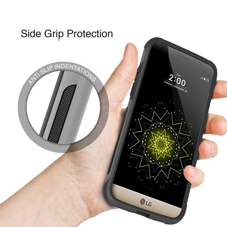 Obliq Skyline Advance Pro LG G5 Case - Gun Metal
