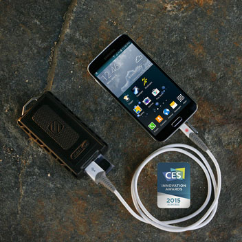 Scosche strikeLINE Rugged LED 1.8M Micro USB Cable - Black