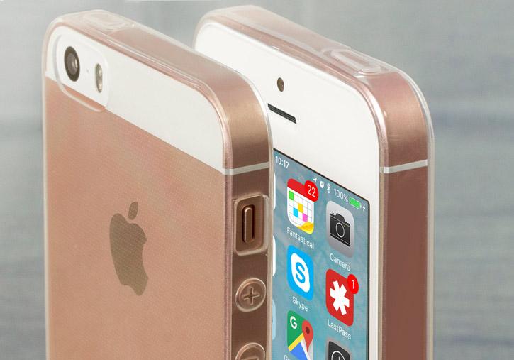 Olixar Ultra-Thin iPhone SE Gel Case - 100% Clear