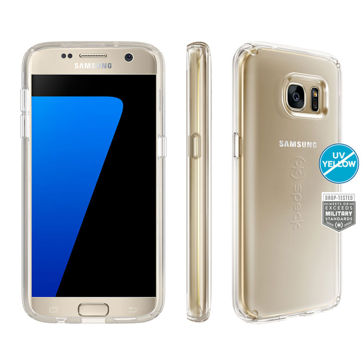Speck CandyShell Samsung Galaxy S7 Case - Clear