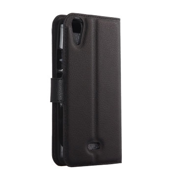 Olixar Wiko Rainbow Jam Wallet Case - Black