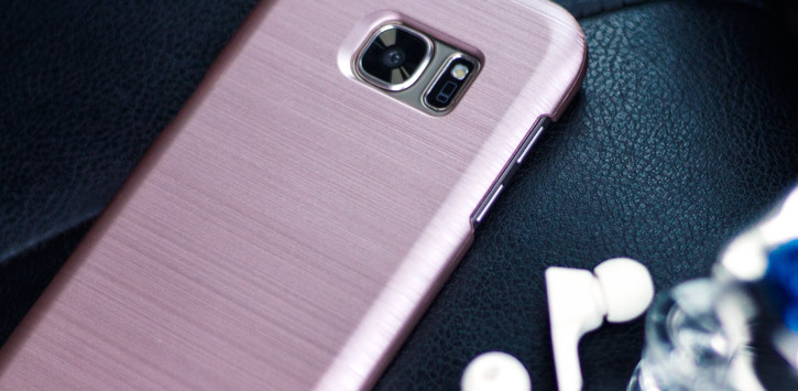 Motomo Ino Slim Line Galaxy S7 Edge Case - Rose Gold
