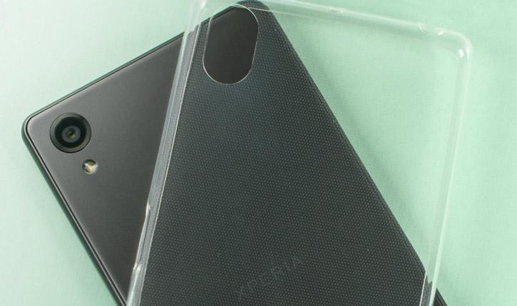 Olixar Ultra-Thin Sony Xperia XGel Case - 100% Clear