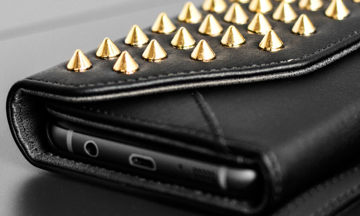 Olixar Rock Chic Studded Samsung Galaxy S7 Edge Wallet Case