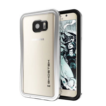 Ghostek Atomic 2 Samsung Galaxy Note 5 Waterproof Tough Case - Silver