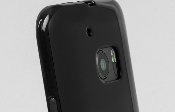 FlexiShield HTC 10 Gel Case - Solid Black