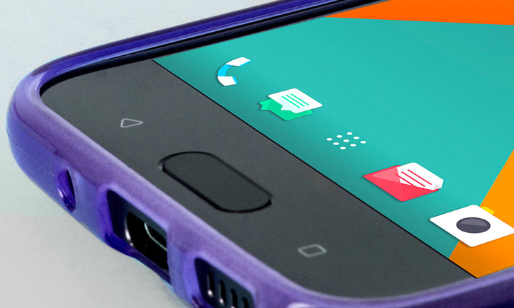 FlexiShield HTC 10 Gel Case - Purple