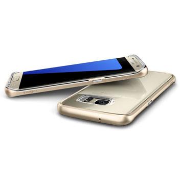Spigen Neo Hybrid Crystal Samsung Galaxy S7 Edge Case - Gold