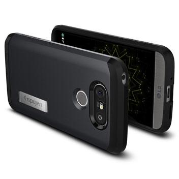 Spigen Tough Armor LG G5 Case - Metal Slate