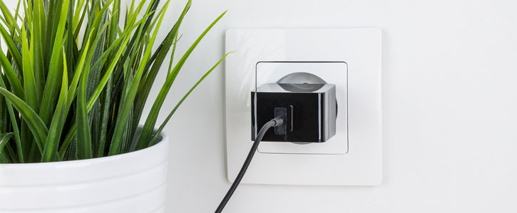 High Power 2.4A USB EU Wall Charger with Lightning Cable