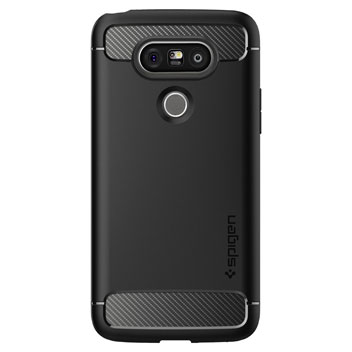 Spigen Rugged Armor LG G5 Tough Case - Black