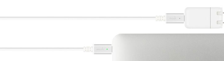 Moshi USB-C Charging Cable - 2M - White