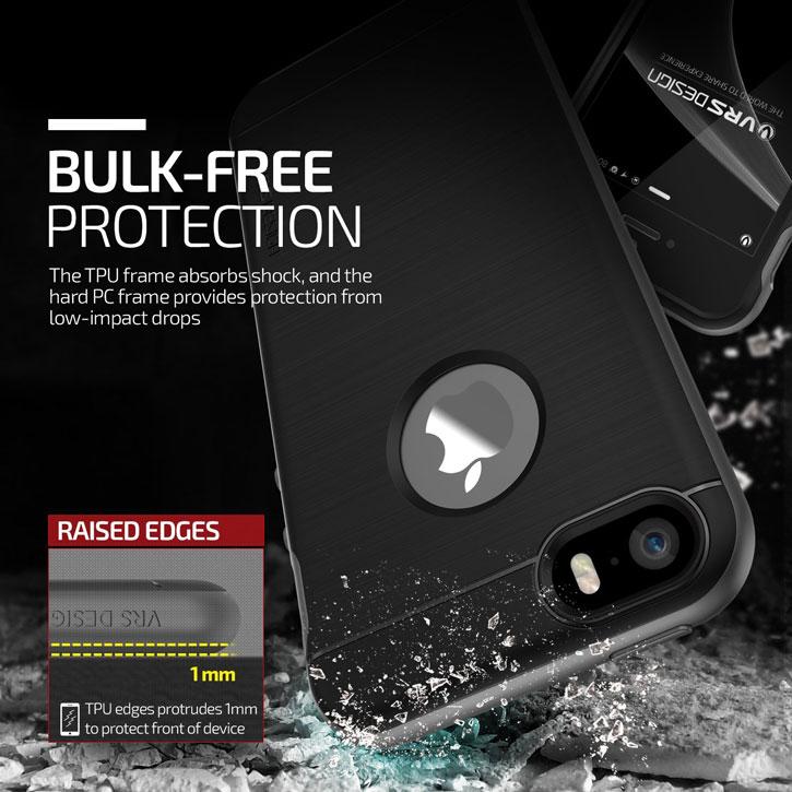 cheap for discount 33a8f 05c01 VRS Design High Pro Shield iPhone SE Case - Titanium