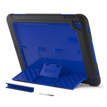 Griffin Survivor Slim iPad Pro 9.7 inch Tough Case - Blue / Black