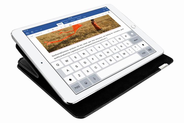 Piel Frama FramaSlim iPad Pro 9.7 inch Leather Case - Black